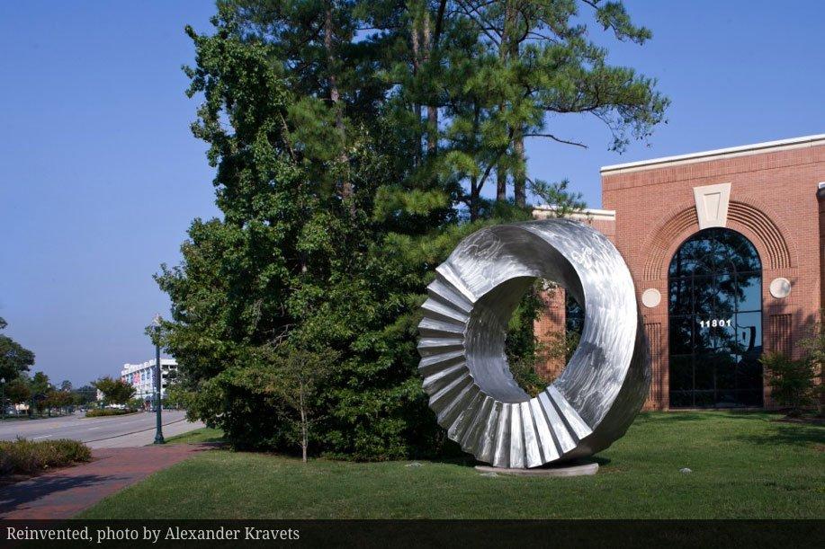 reinvented public sculpture